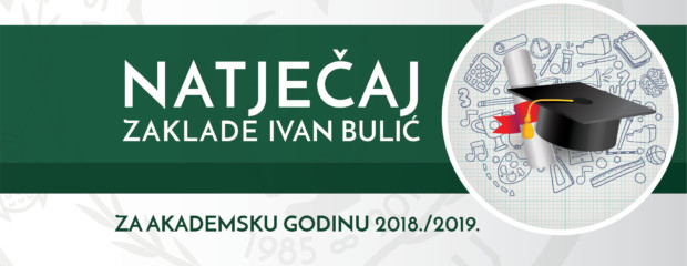 Natječaj za akademsku godinu 2018./19.