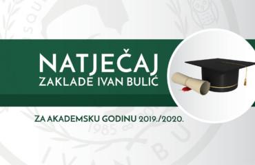 Natječaj za akademsku godinu 2019./20.