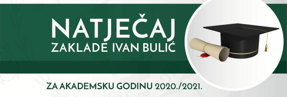 Natječaj za akademsku godinu 2020./21.